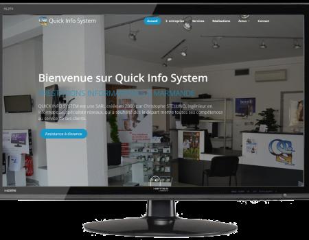 Nouveau site internet quick info