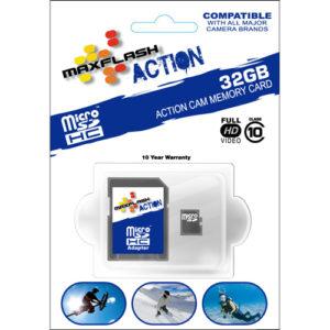 Maxflash Micro SDHC 32 Go boite