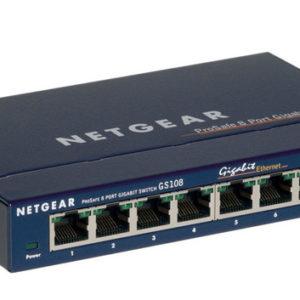 Netgear GS108 8 ports