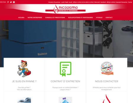 Création du site de l'entreprise Nicodemo